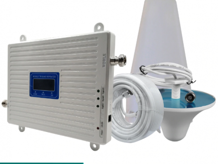 Weak Mobile Phone Network Signal Booster Repeater Amplifier