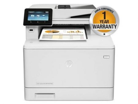 HP Color LaserJet Pro M477fdw printer