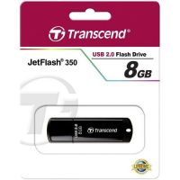 Transcend JetFlash350-Flash Drive-8GB-Black