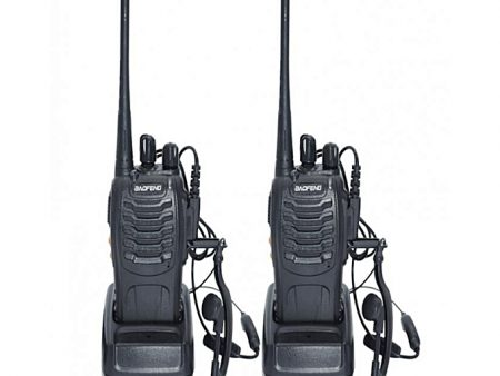 Baofeng Walkie Talkie 888s 2-Way Radio With Ear Piece 3