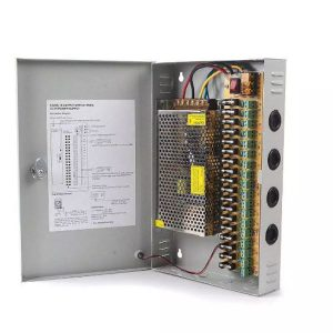 CCTV Camera Power Supply Distribution Box Unit 12V 10A 18 Channels 1