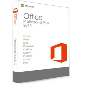 Microsoft Office Professional Plus 2019-Product Key 1pc