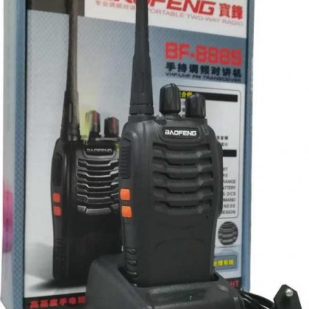 BF- 888S Walkie Talkie Single Band Two Way Radio