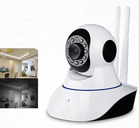 Rotating HD Wifi Indoor Security CCTV Camera