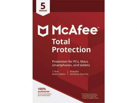McAfee Total PROTECTION 5-User