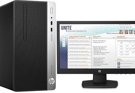 HP ProDesk 400 G4 Core i5 Desktop and 18.5 Monitor