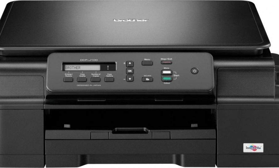 Brother DCP-J100 color inkJet printer