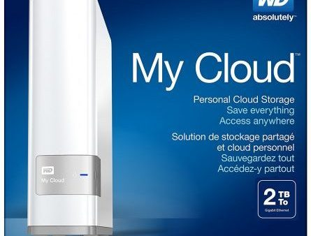 WESTERN DIGITAL WD MY CLOUD 2TB PERSONAL CLOUD STORAGE
