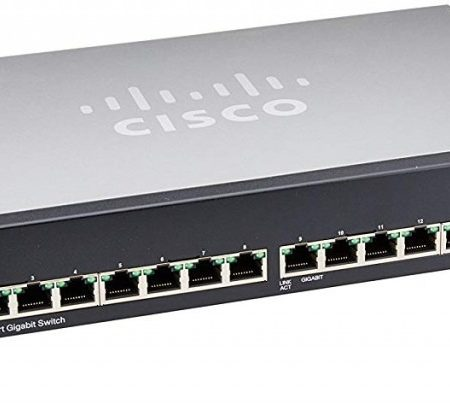 Cisco 16port Gigabit switch SG100-16