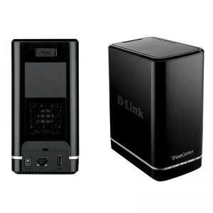 D-link DNS-320/E 2-bay network storage enclosure