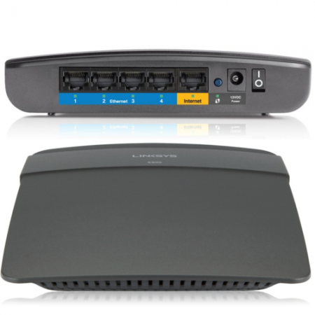 Linksys E900 N300 Wireless Router (E900)