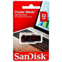 Sandisk Cruzer Blade Flash Disk: 32GB