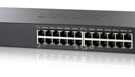 Cisco SF200 24 Port POE Switch, SLM224PT-G5 10/100 Smart Switch POE