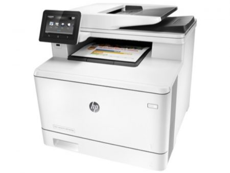 HP Color LaserJet Pro M477fdn printer