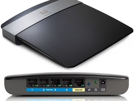 Linksys E2500 N600 Dual-Band Wireless Router