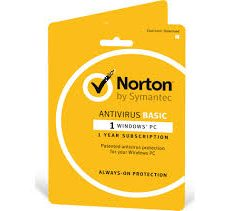 Norton Antivirus 1 Device 2 years