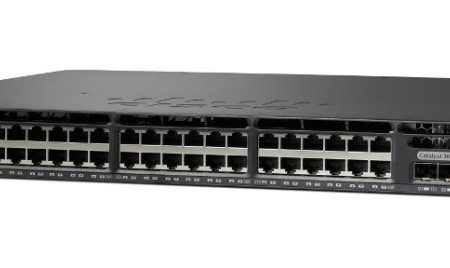 Cisco catalyst switch 3650 48port PoE 4*1G Uplink LAN Base