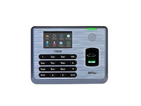 ZKTeco TX628-Fingerprint Time And Attendance System