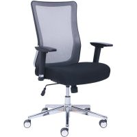 LB Chair U-Song-B In Black Mesh