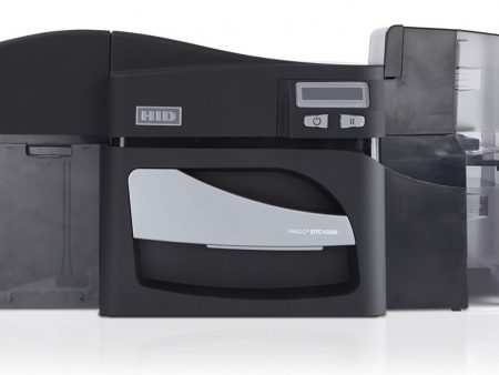 Fargo DTC4500 Double Sided ID printer