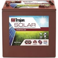 Trojan 6 V 220 Amp Hour Solar AGM Battery