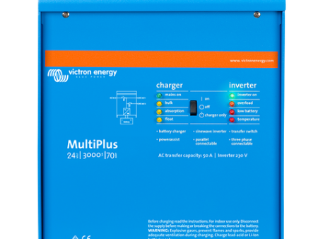 Victron Multi 2000w 50A 24V Inverter charger