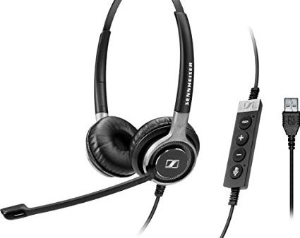 Sennheiser SC 660 USB ML Skype Optimised Wired Century Series Headset